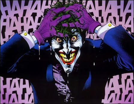 Original Joker Concept Drawing