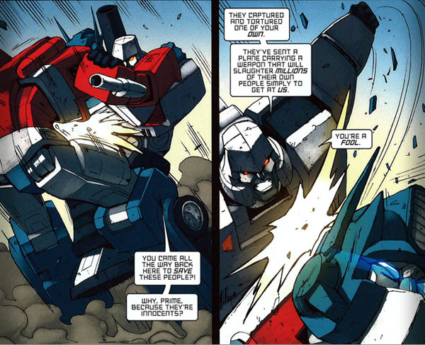 Megatron; Right, Wrong or Master of Magnetism?