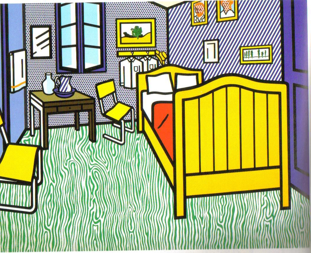 roy lichtenstein using comics to fuse high and low art